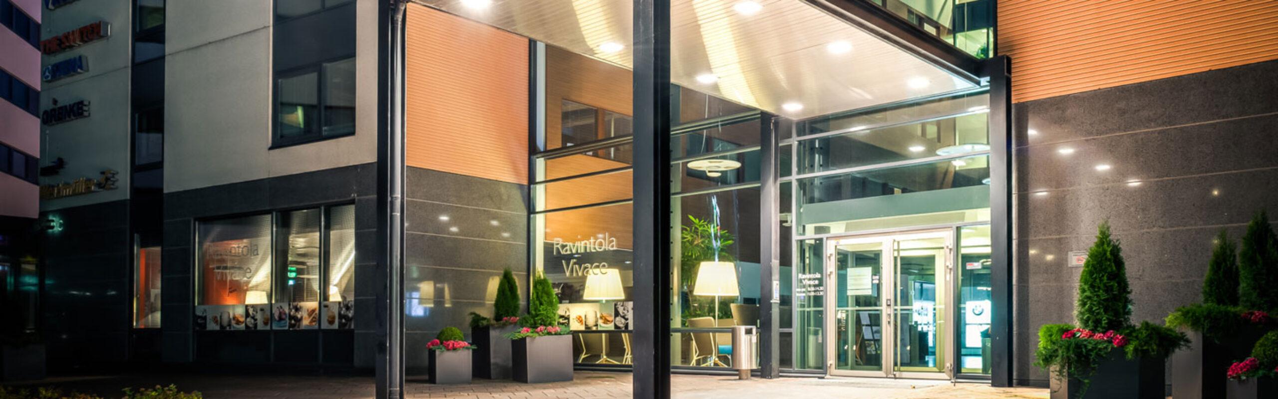 Uudistuva Gate8 Business Park on viihtyisän tehokas työympäristö